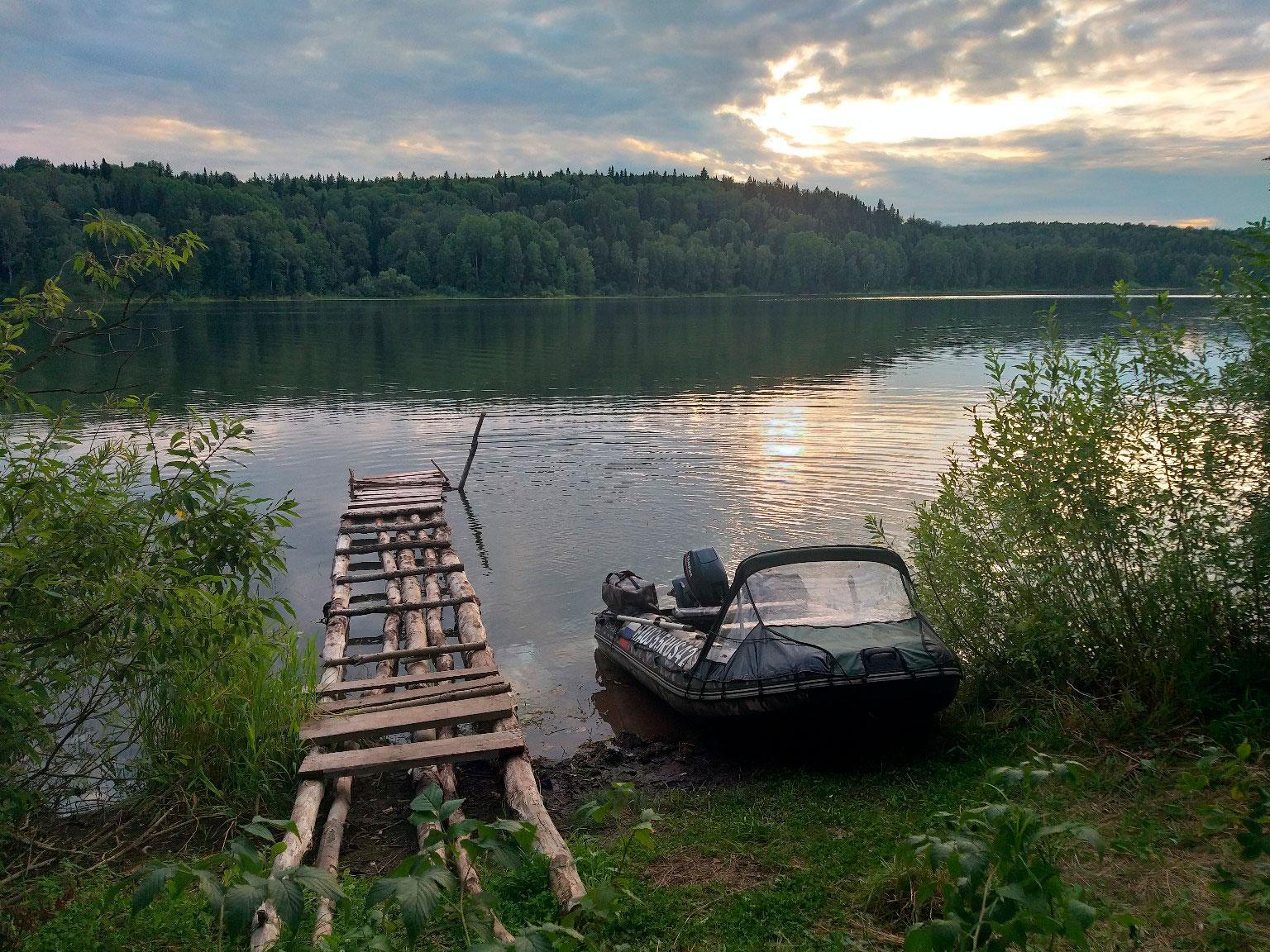 Преимущества ловли с лодки