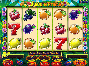 Игровой автомат Juice And Fruits - фото № 1