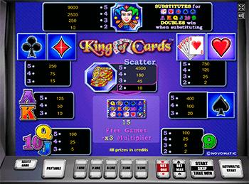 Игровой автомат King of Cards - фото № 6