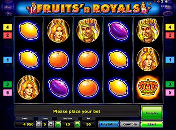 Игровой автомат Fruits and Royals - фото № 3
