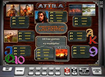 Игровой автомат Attila - фото № 2