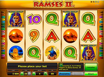Игровой автомат Ramses II Deluxe - фото № 1