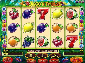 Игровой автомат Juice And Fruits - фото № 4