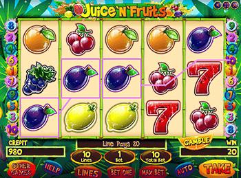 Игровой автомат Juice And Fruits - фото № 3