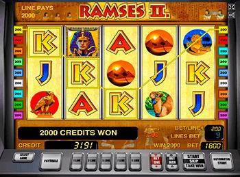 Игровой автомат Ramses II - фото № 1