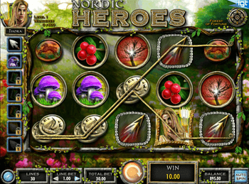 Игровой автомат Nordic Heroes - фото № 2
