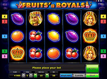 Игровой автомат Fruits and Royals - фото № 2