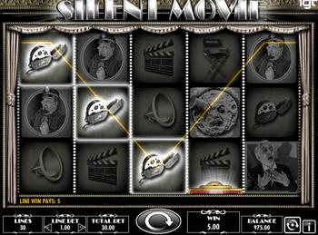 Игровой автомат Silent Movie - фото № 1