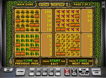 Игровой автомат Crazy Monkey 2 - фото № 4