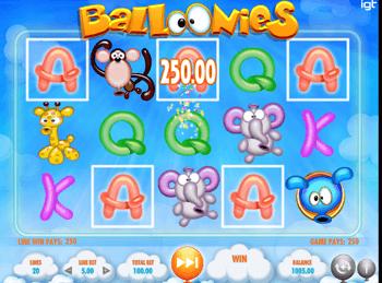 Игровой автомат Balloonies - фото № 3
