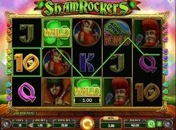 Игровой автомат Shamrockers - фото № 1