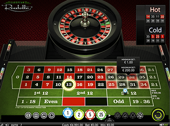 Игровой автомат European Roulette - фото № 1
