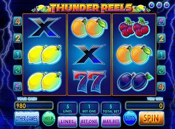 Игровой автомат Thunder Reels - фото № 1