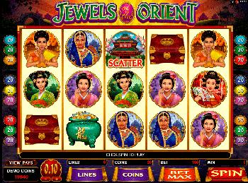 Игровой автомат Jewels Of The Orient - фото № 3