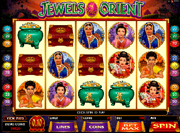 Игровой автомат Jewels Of The Orient - фото № 4