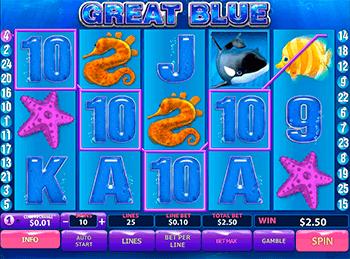 Игровой автомат Great Blue - фото № 1