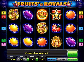 Игровой автомат Fruits and Royals - фото № 4