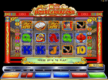 Игровой автомат House Of Dragons - фото № 1