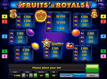 Игровой автомат Fruits and Royals - фото № 5