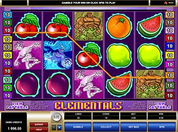 Игровой автомат Elementals - фото № 1