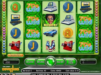 Игровой автомат Funky Seventies - фото № 1