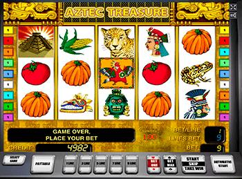 Игровой автомат Aztec Treasure - фото № 5