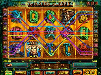 Игровой автомат Spirits Of Aztec - фото № 1