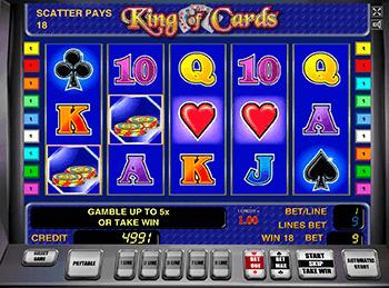 Игровой автомат King of Cards - фото № 3