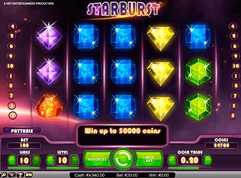 Игровой автомат Starburst - фото № 5