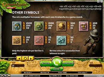 Игровой автомат Gonzo's Quest Extreme - фото № 2