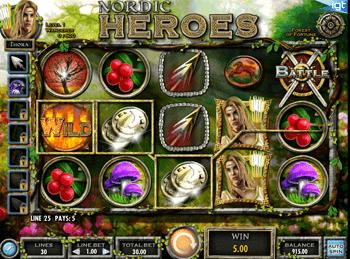 Игровой автомат Nordic Heroes - фото № 1