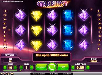 Игровой автомат Starburst - фото № 4