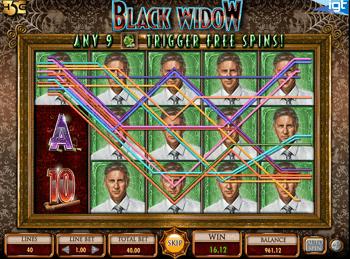 Игровой автомат Black Widow - фото № 3