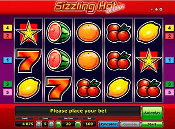 Игровой автомат Sizzling Hot Deluxe - фото № 2