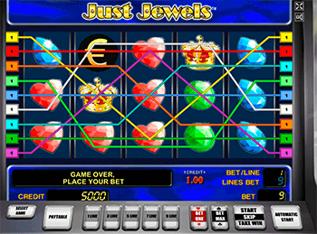 Игровой автомат Just Jewels - фото № 6