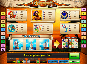 Игровой автомат Columbus Deluxe - фото № 3