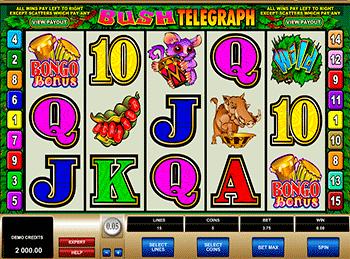 Игровой автомат Bush Telegraph - фото № 3