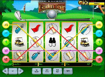 Игровой автомат Golden Tour - фото № 2