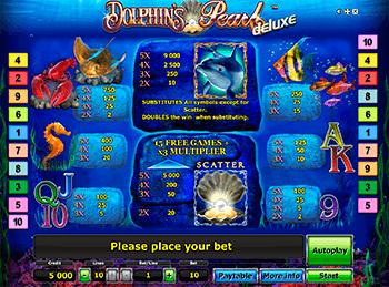 Игровой автомат Dolphin's Pearl Deluxe - фото № 1