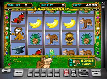 Игровой автомат Crazy Monkey - фото № 5
