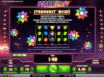 Игровой автомат Starburst - фото № 1