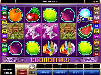Игровой автомат Elementals - фото № 3