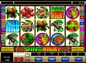 Игровой автомат Dino Might - фото № 3
