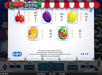 Игровой автомат Fruit Shop Christmas Edition - фото № 3