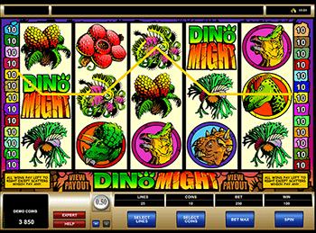 Игровой автомат Dino Might - фото № 4