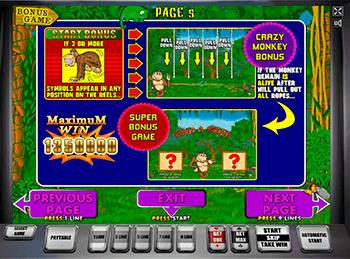 Игровой автомат Crazy Monkey - фото № 4