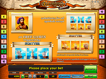 Игровой автомат Columbus Deluxe - фото № 2