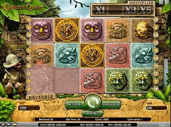 Игровой автомат Gonzo's Quest - фото № 3