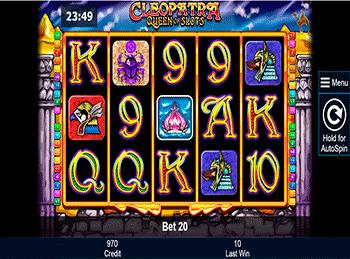 Игровой автомат Cleopatra Queen Of Slots - фото № 1