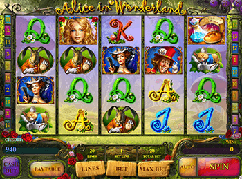 Игровой автомат Alice In Wonderland - фото № 3